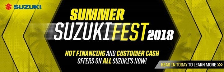 Suzuki - Summer Suzuki Fest for Cruiser and Touring